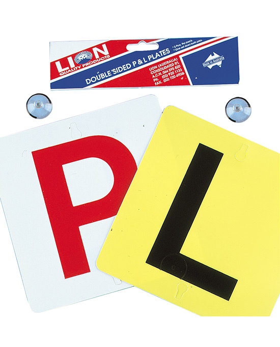 P and L Plates