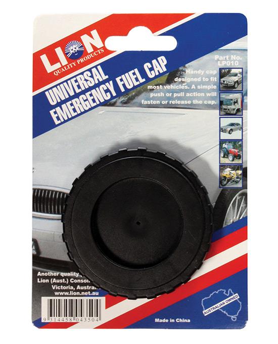 Emergency Fuel Cap