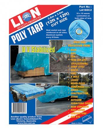 Poly Tarp Blue