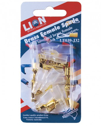 Brass Female Blades and Covers
