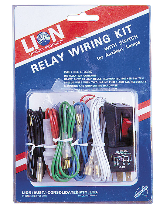 Relay Wiring Kit