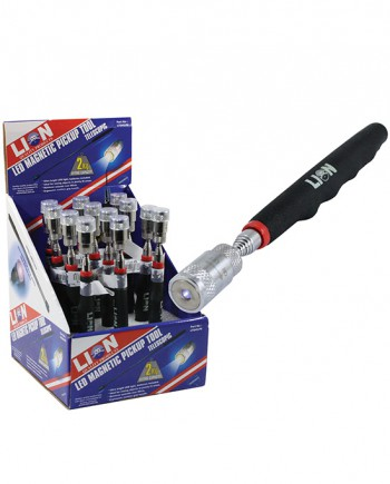 LED Magnetic Pick Up Tool with Light