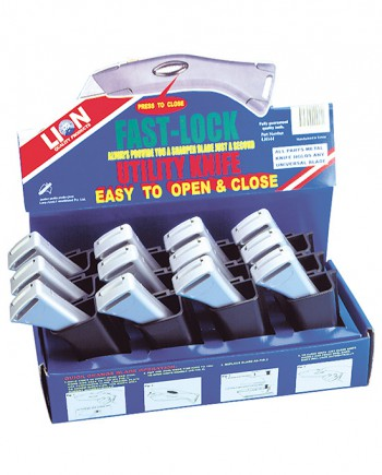 Utility Knife Display